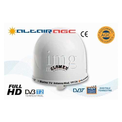 Antenna TV + Radio ALTAIR V9126AGC Glomex
