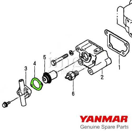 Guarnizione termostato Yanmar