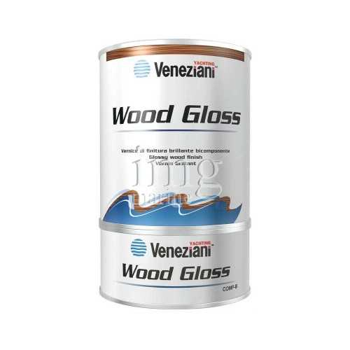 Veneziani Wood Gloss Vernice di finitura brillante bicomponente