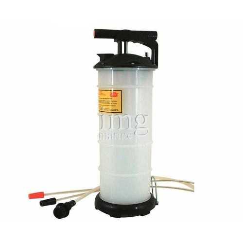 Pompa estrazione olio con serbatoio 6,5 Lt