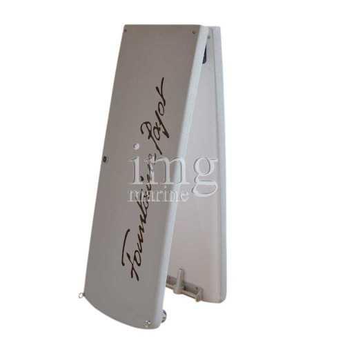 Passerella pieghevole Carbon Line Polymer 220 cm