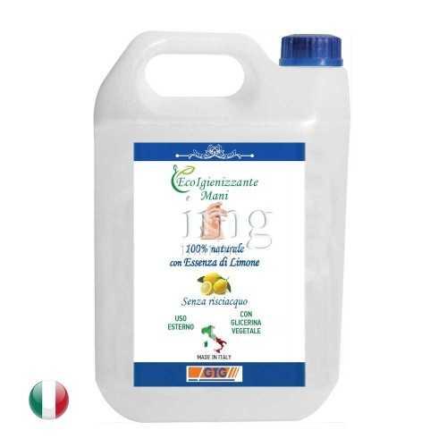 Igienizzante naturale superfici-mani ECO50 68% fustino da 5 litri