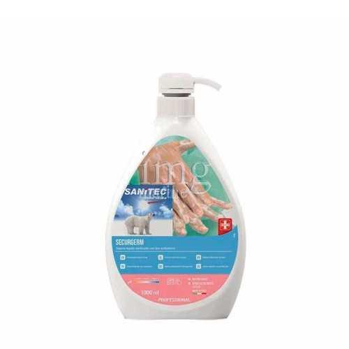Sapone liquido con antibatterico Securgerm Sanitec