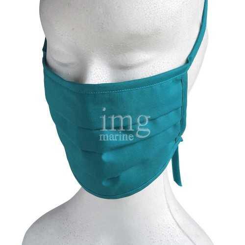Mascherina tipo chirurgica Lavabile in Cotone-TNT Verde