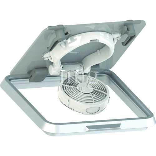 Ventilatore Caframo per passauomo orientabile alimentazione 12V