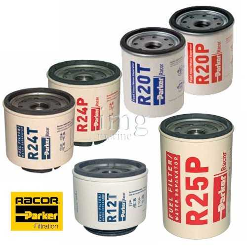 Cartuccie filtri separatori Diesel RACOR
