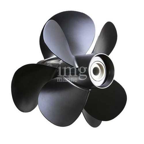 Elica DuoProp alluminio