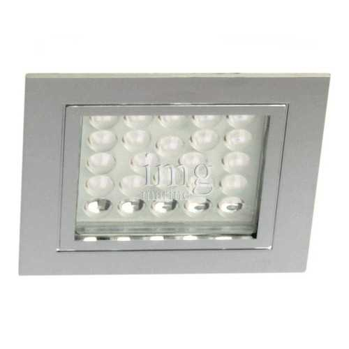 Plafoniera Led quadra Chrome-R