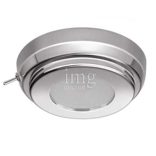 Plafoniera Led inox Tim