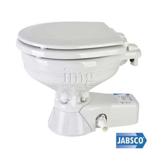 WC Toilet marino elettrico Quiet Flush JABSCO