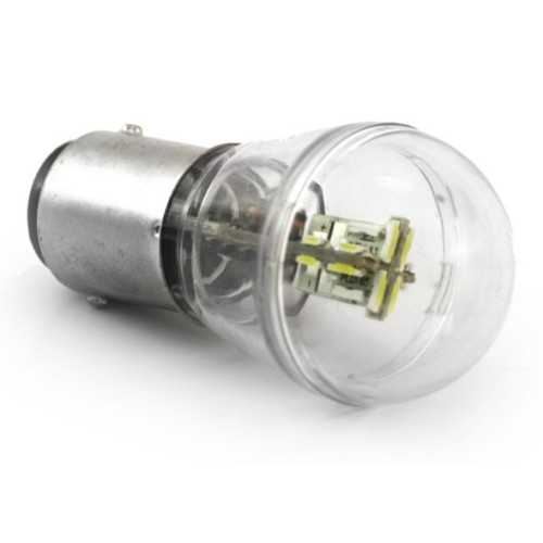 Lampadina 12+4 smd Led BAY15D