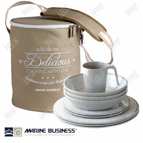 Set piatti 25 pezzi Bali Marine Business