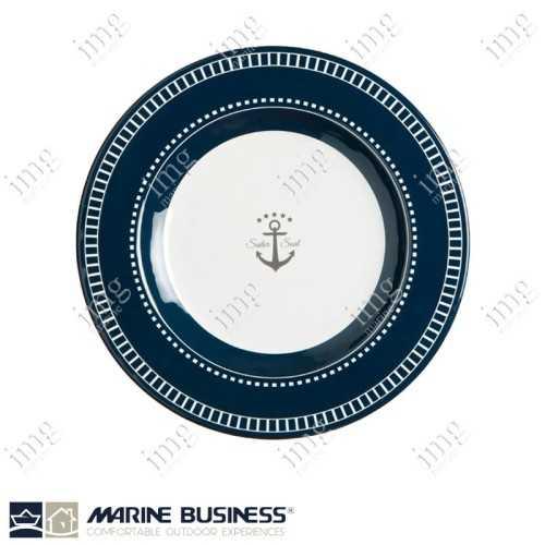 Set piatti 25 pezzi Sailor Soul Marine Business Piatto Dessert