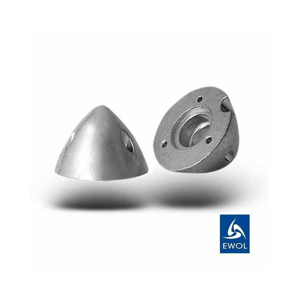 Anodo Ogiva in zinco per elica Ewol E3. Confezione 2 pezzi