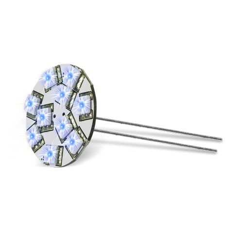 Lampadina 10 Led Blu ø 30 - G4 | Dixplay