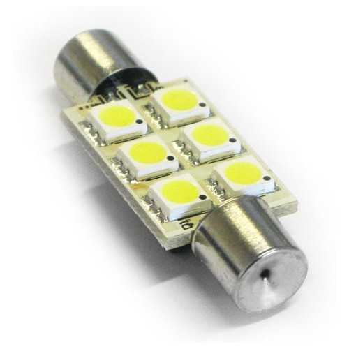Lampadina 6 Led SV8.5 Barrel_end