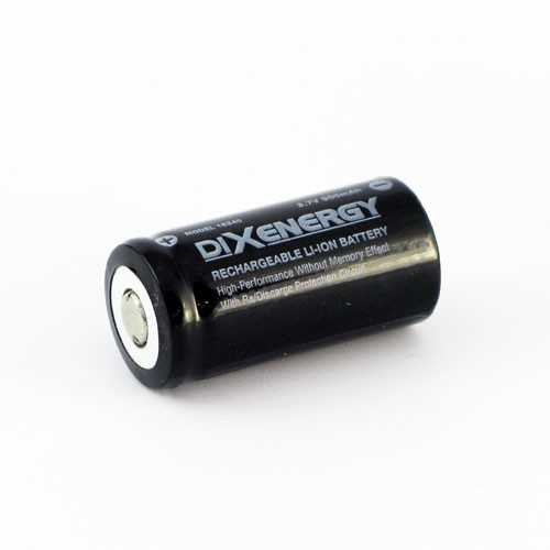 Torcia led Compact - Batteria ricaricabile 3,7V CR123R | Dixplay