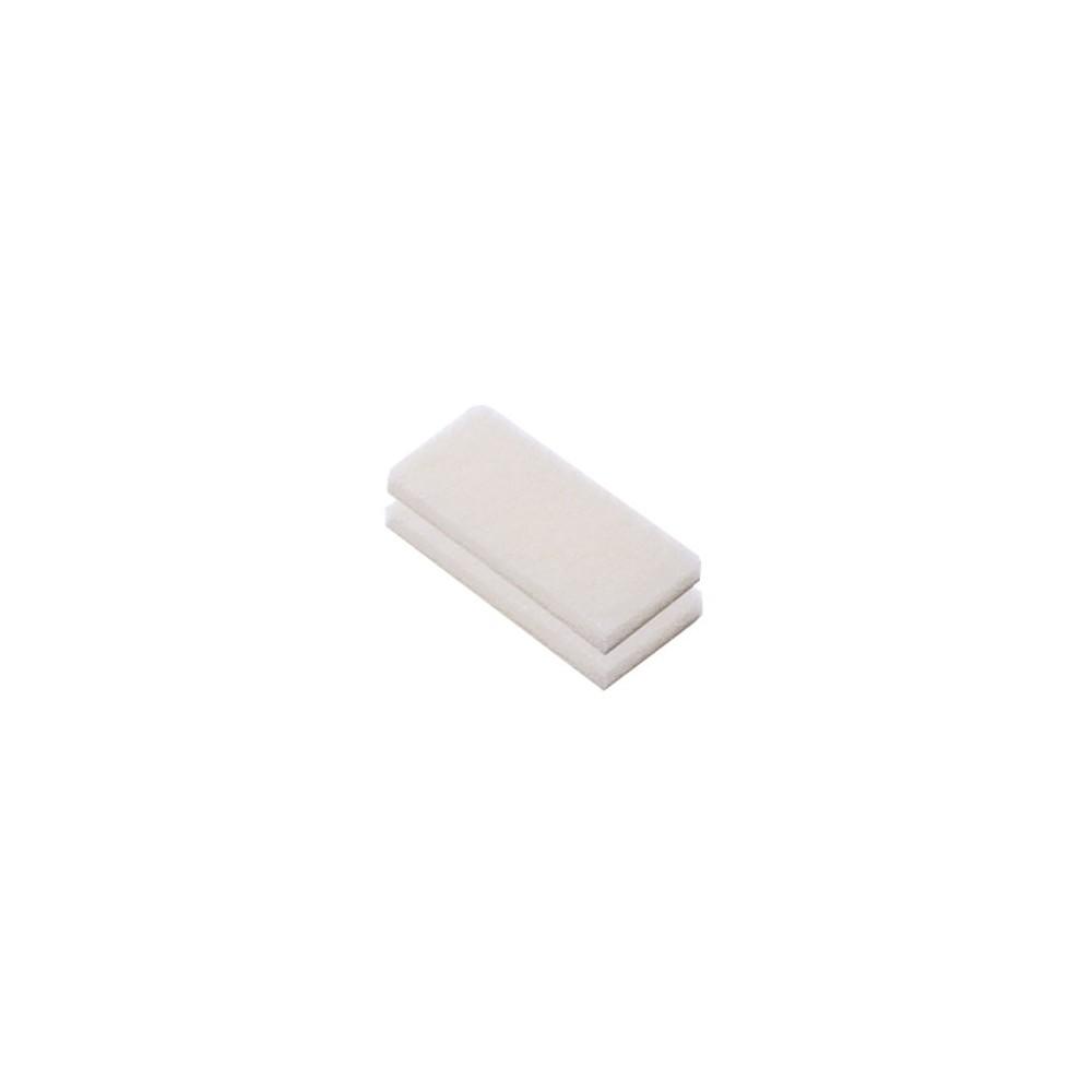 Cuscinetto abrasivo bianco DeckMate