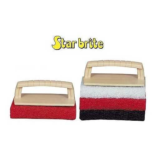 Kit Scrub pad Star Brite