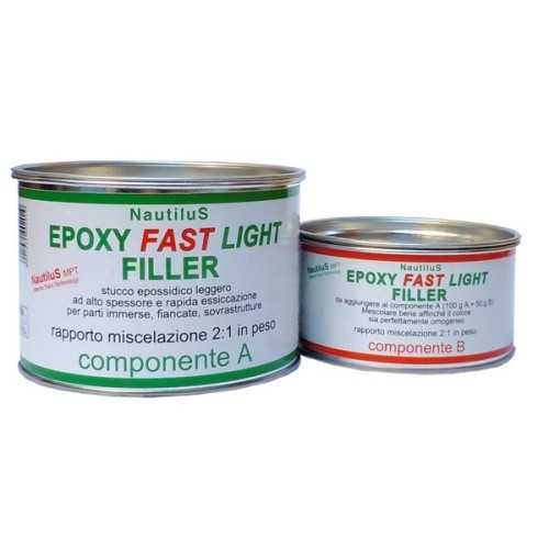 Stucco Nautilus Fast Epoxy Light Filler