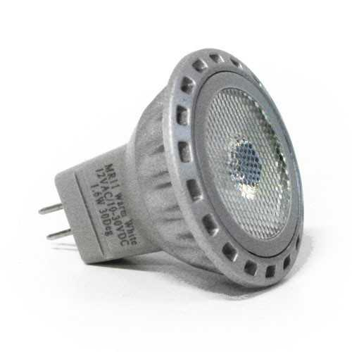 Lampadina 1 led 2W 120° MR11