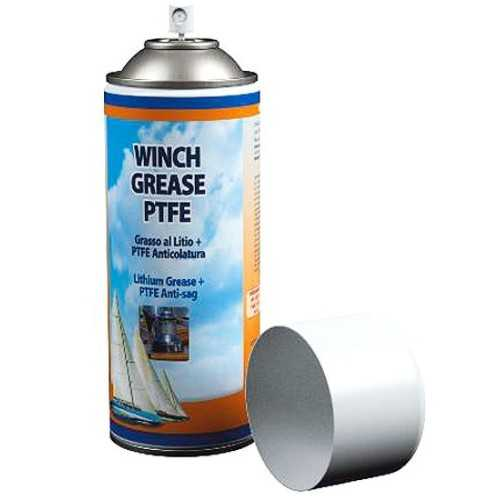 Grasso spray per winch al litio e PTFE