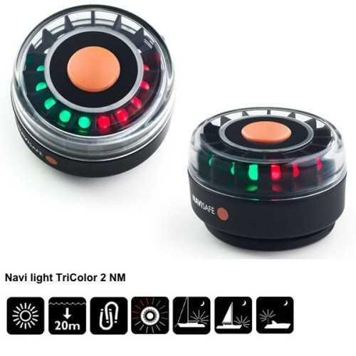 NAVISAFE - Lampada tricolore Navi Light 360°