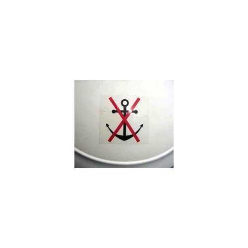 Grippiale - Adesivo divieto di ancoraggio