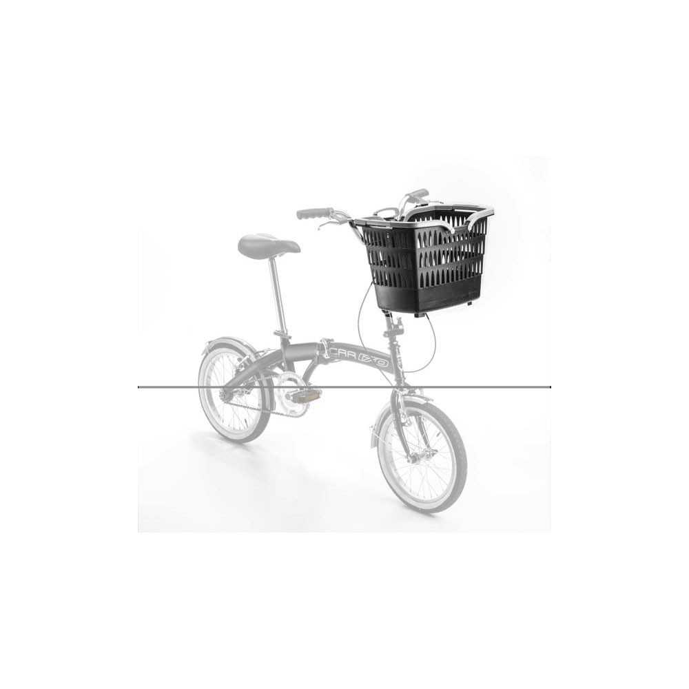 Cestino Trolley per bici pieghevole