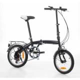 Bicicletta pieghevole con cambio Shimano