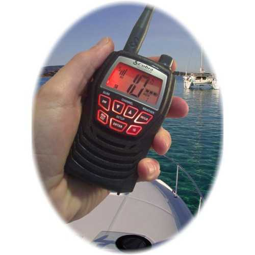 VHF portatile Cobra MR HH125 VP EU