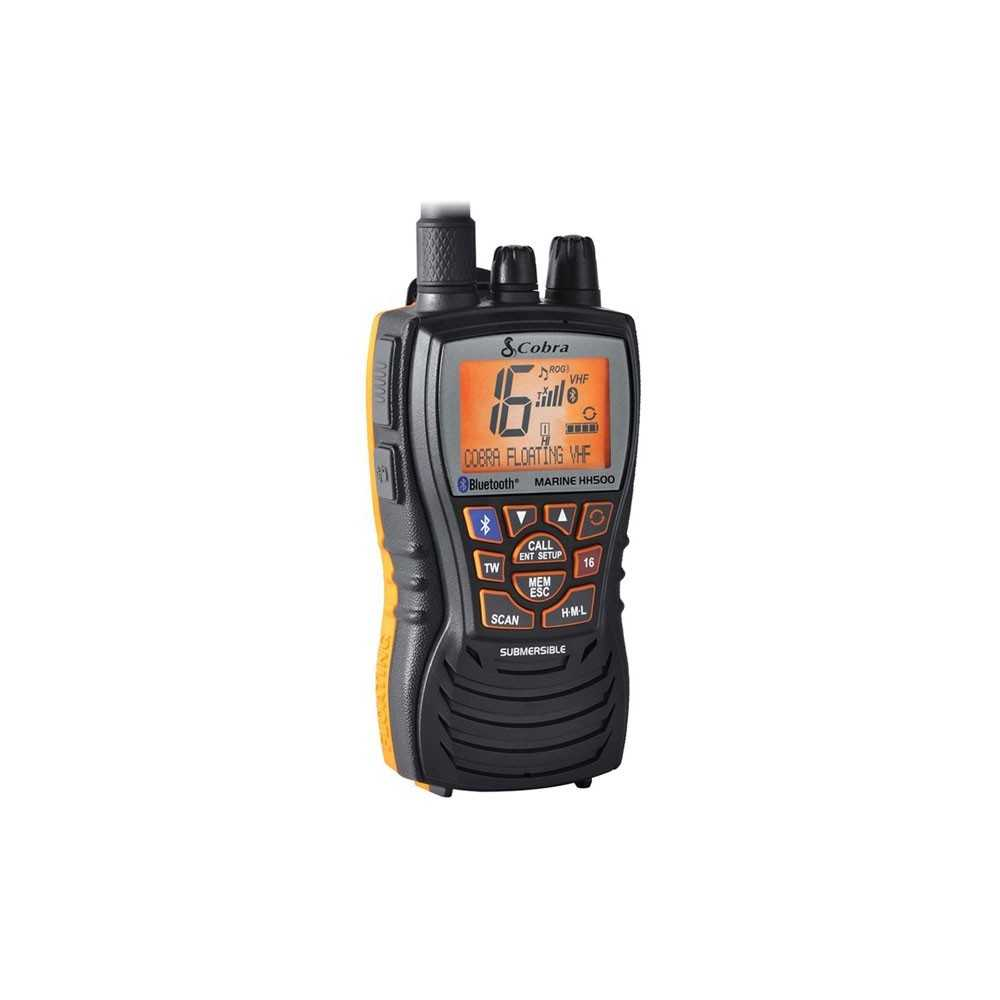VHF portatile Cobra MR HH500 FLT BT EU