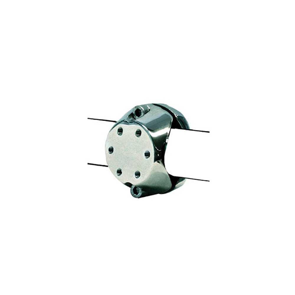 Morsetto in acciaio inox per tubi ø 30/35/40 mm