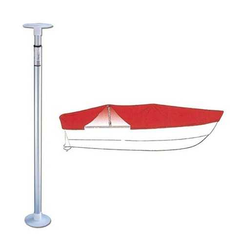 Paolo telescopico displuvio per sostegno teli copri barca