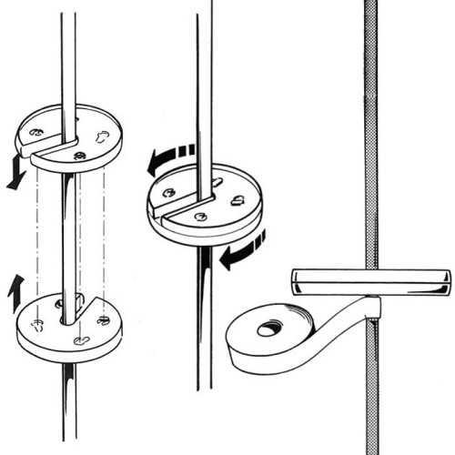 Rotelle di protezione per sartie fino a 6,5 mm