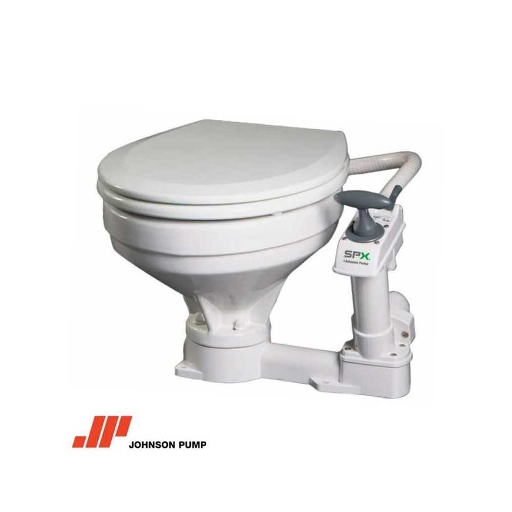 WC toilet marino manuale serie Large JOHNSON