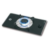 Fornelli a gas con piano in vetro temperato - CAN
