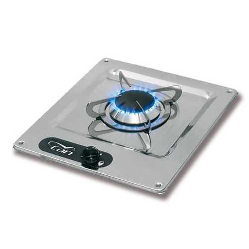 Fornelli a gas con piano in acciaio inox - CAN