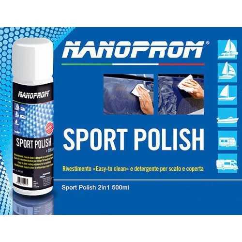 Sport Polish Nanoprom 2in1 500 ml. Detergente Protettivo