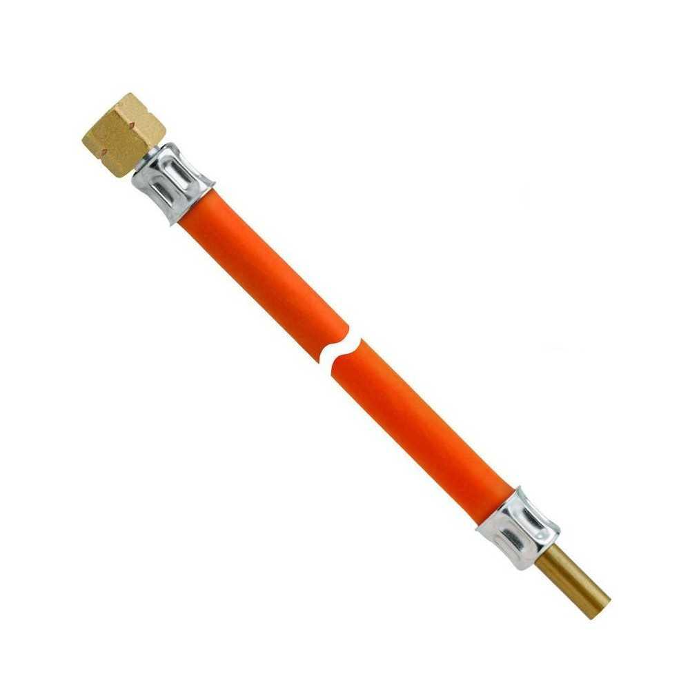 Tubo gas a bassa pressione attacco filettato-tubo