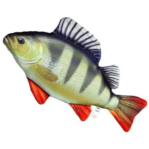 Cuscino d'arredo Pesce Persico Reale L50
