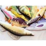 Cuscino d 39 arredo a forma di pesce persico reale for Ais arredo