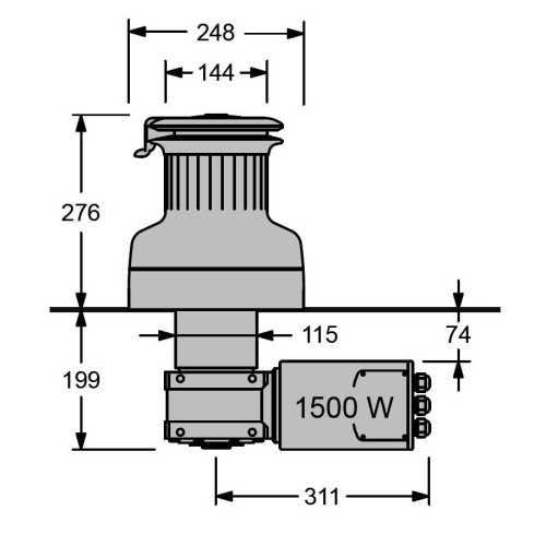 Winch elettrici Serie XT-3EH Antal