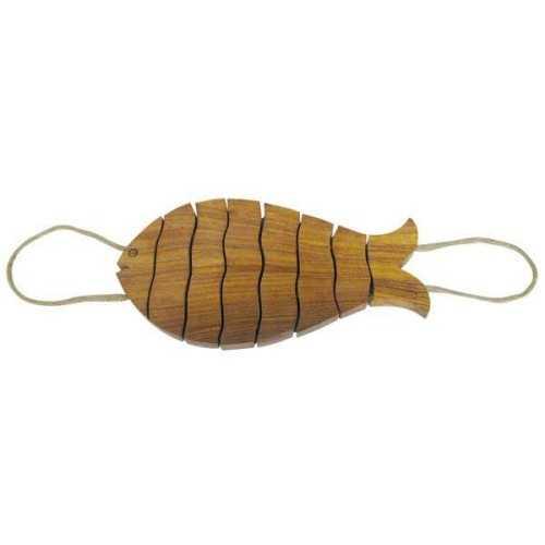 Sottopentola Pesce in legno