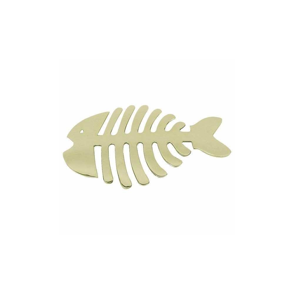 Sottopentola Lisca di Pesce in ottone