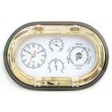 Orologio, termometro, igrometro e barometro