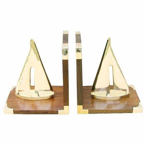 Fermalibri con barche a vela