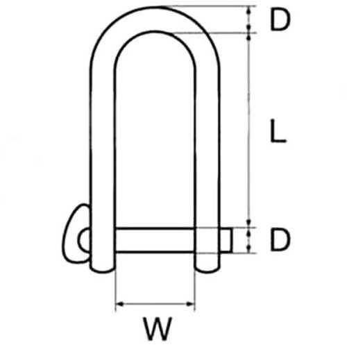 Grillo con chiusura a scatto inox AISI 316