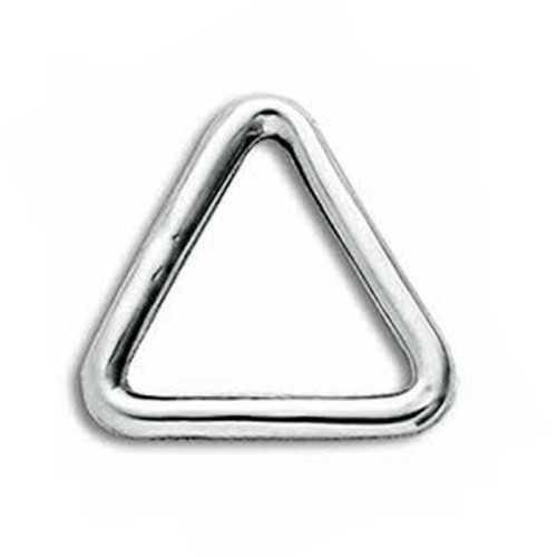 Anello triangolare in acciaio Inox