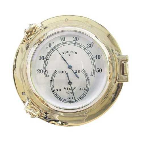 Igrometro e Termometro in ottone
